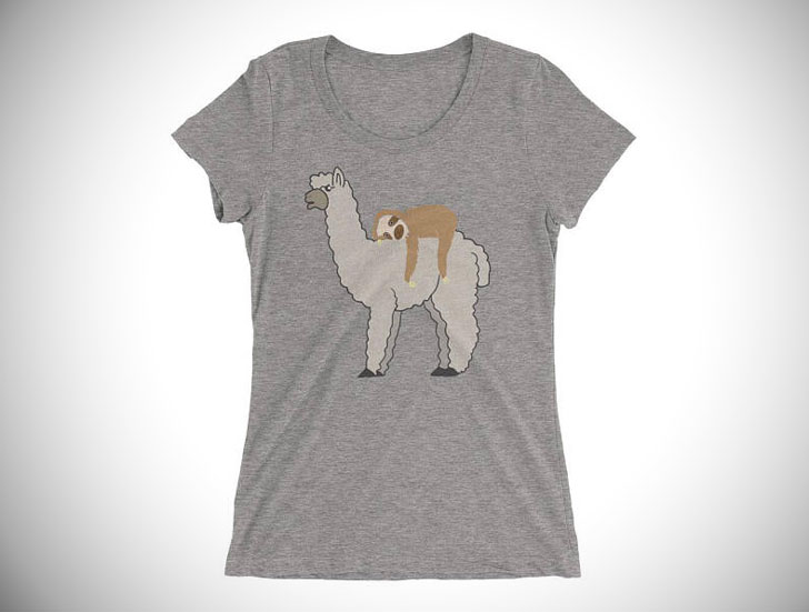 f9d0f91a 30 Greatest Sloth T-Shirts You Can Buy For Men And Women!