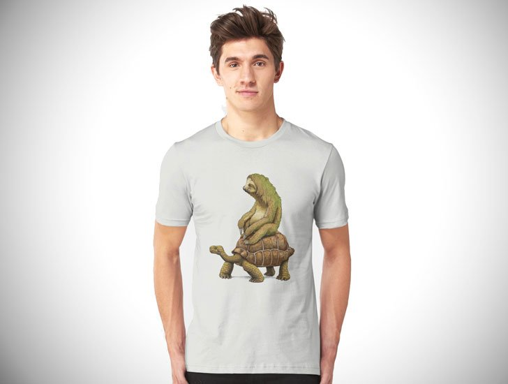 Funny Zootopia Sloth Scene T-Shirt