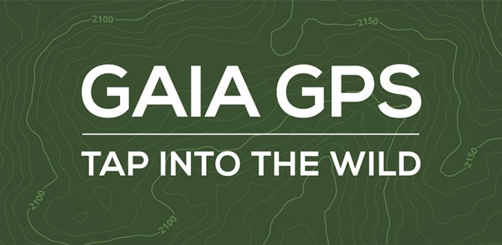 Gaia GPS App - camping apps