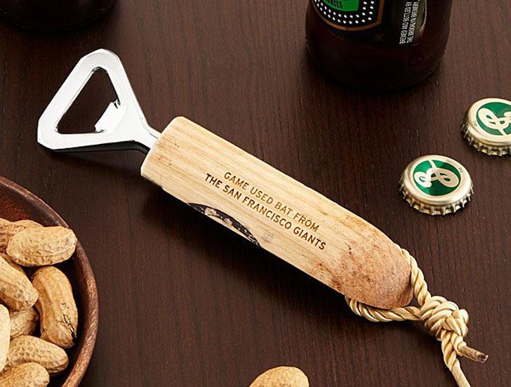 Game Used Baseball Bat Bottle Openers
