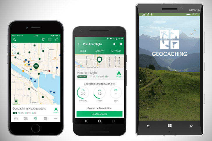 Geocaching App - camping apps