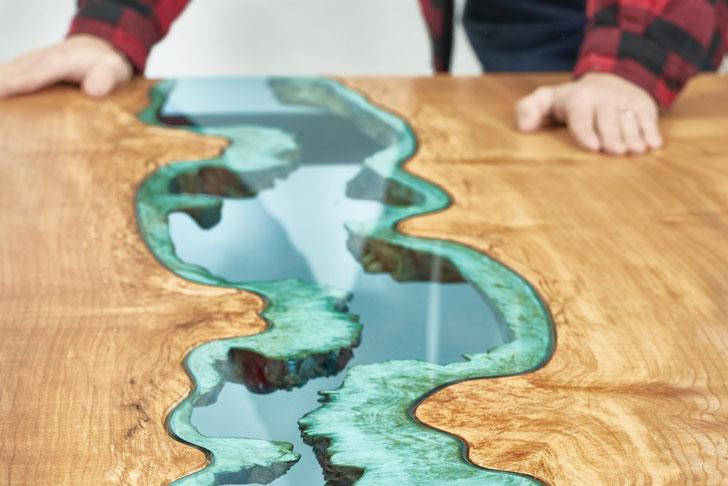 Greg Klassen Maple River Dining Table