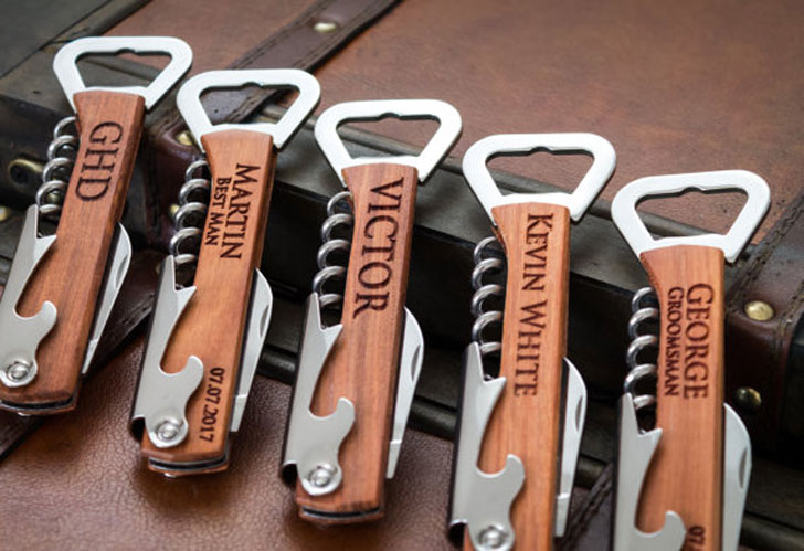 Groomsmen Personalized Bottle Openers
