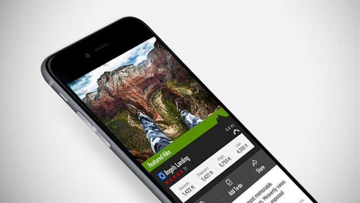 Hiking Project App - camping apps