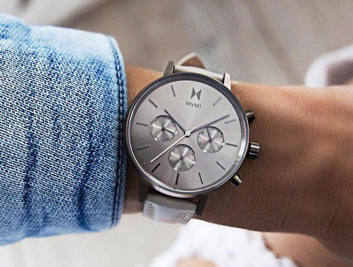 His Chrono Gun Series Watch with Her Nova Lyra Watch