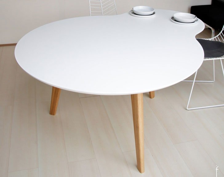 Ilias Fragkakis Union White Table