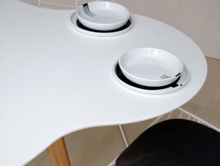 Ilias Fragkakis Union White Table
