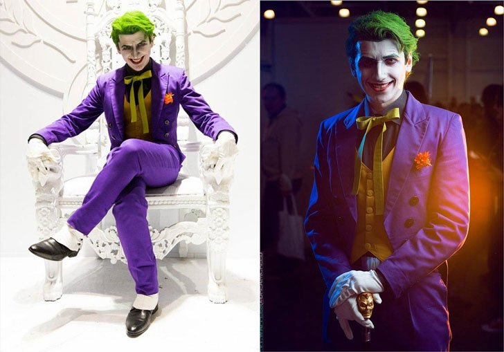 Joker Cosplay Costume - Cosplay Ideas For Guys