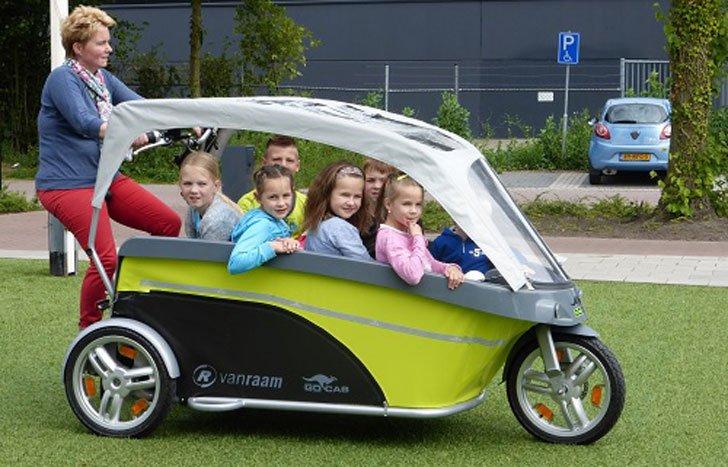 Kid S Gocab Bicycle Taxi Sustainable Inovations
