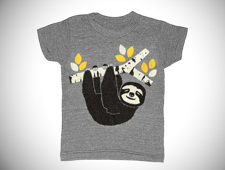 Kids Sloth T-Shirt