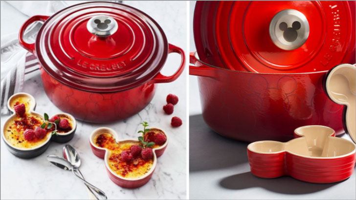 Le Creuset Mickey Mouse Cookware
