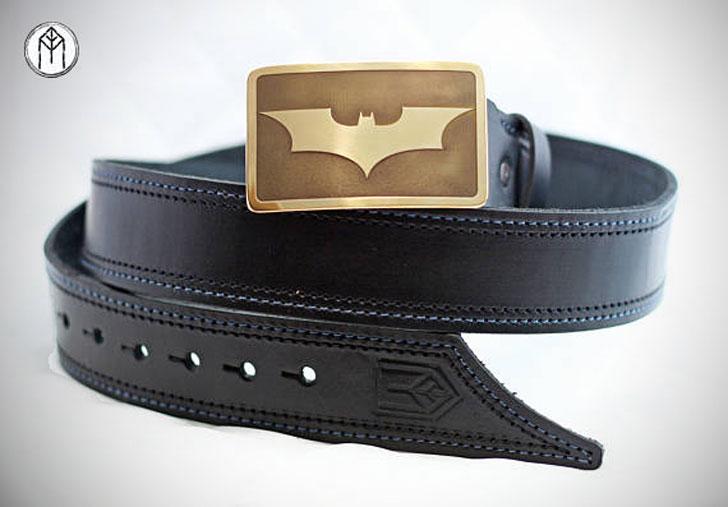 Leather Batman Belt