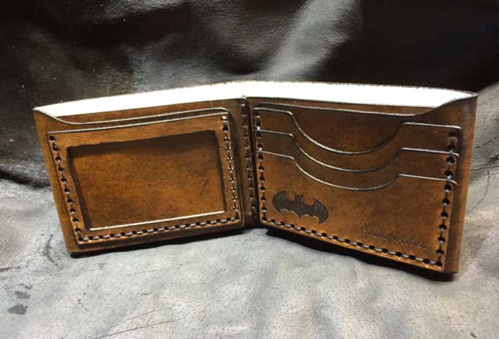 Leather Batman Wallet