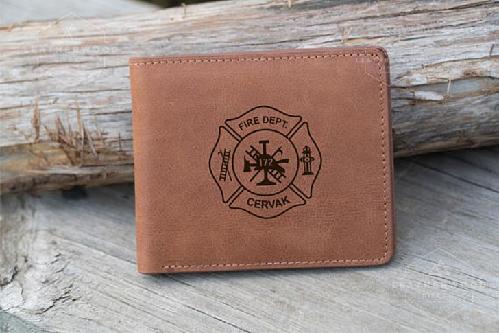 Leather Firemans Wallet