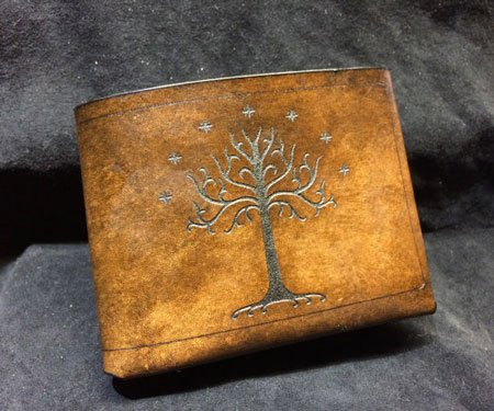 Leather Lord of The Rings Wallet