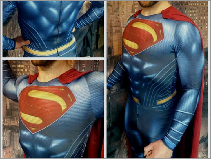 Man of Steel Superman Suit