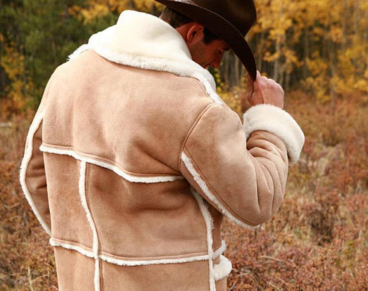 Mens Sheepskin Colorado Coat