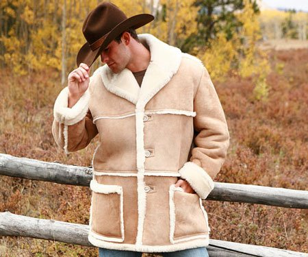 Mens Sheepskin Colorado Coat
