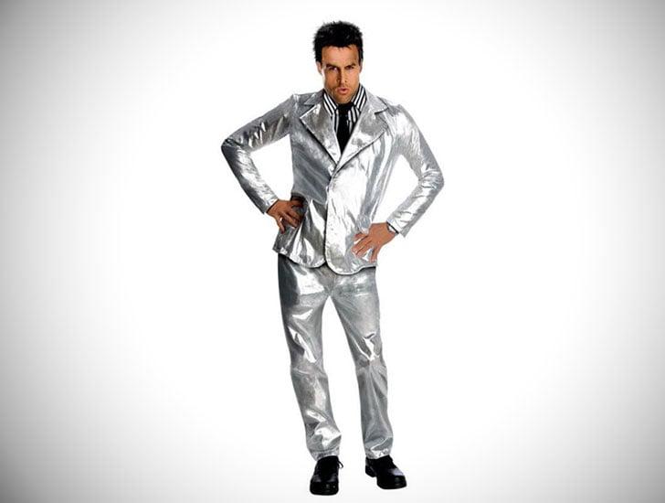 Mens Silver Derek Zoolander Costume - Cosplay Ideas For Guys