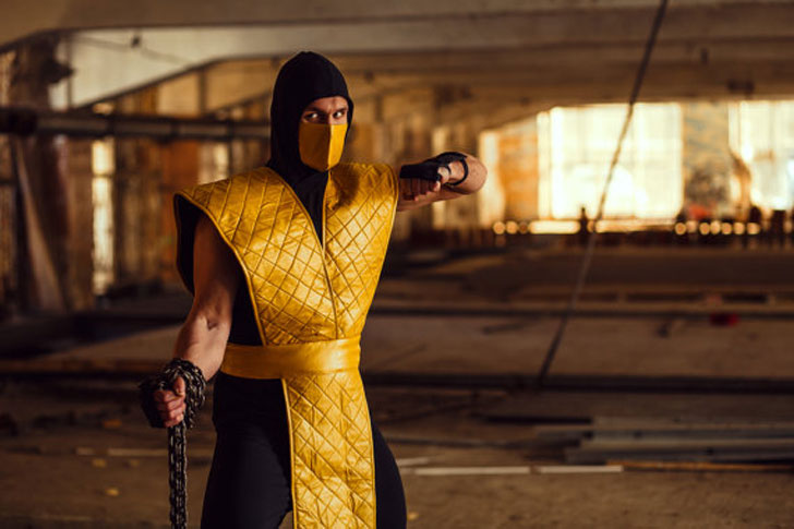 Mortal Kombat Scorpion Cosplay Costume - Cosplay Ideas For Guys