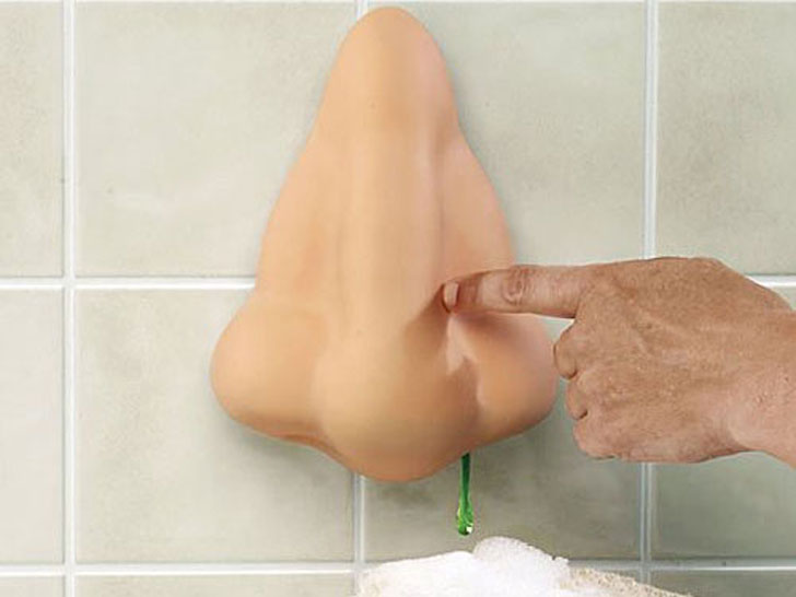 Nose Shower Gel Dispenser