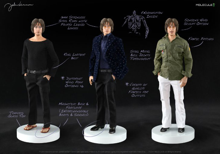 Official John Lennon 1:6 Figure