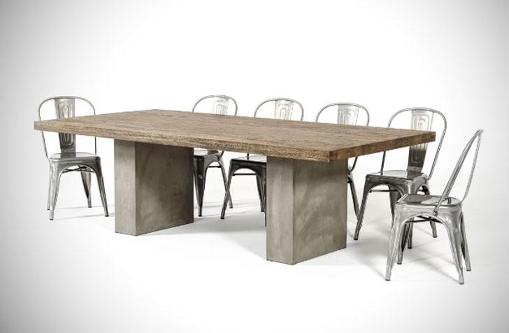 Pagosa Springs Oak Dining Table