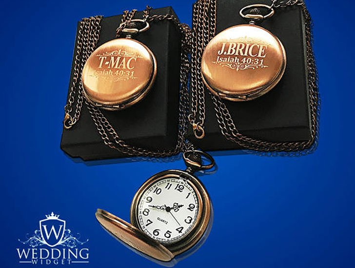 Personalised Pocket Watches for Him and Her