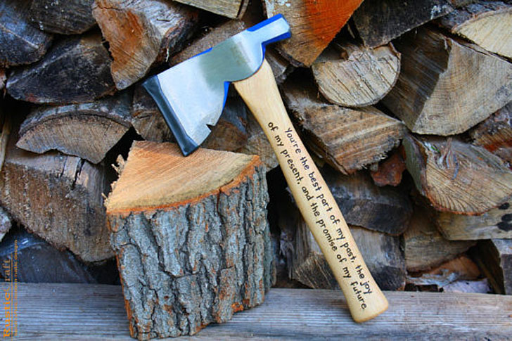 Personalized Engraved Firefighter Hatchets