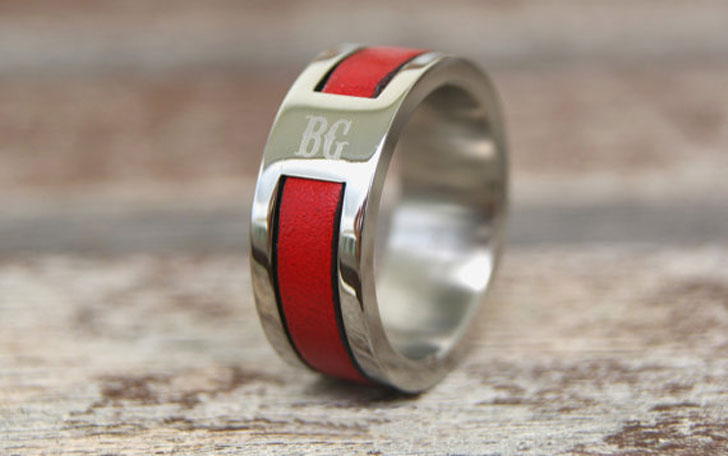Personalized Firefighters Ring