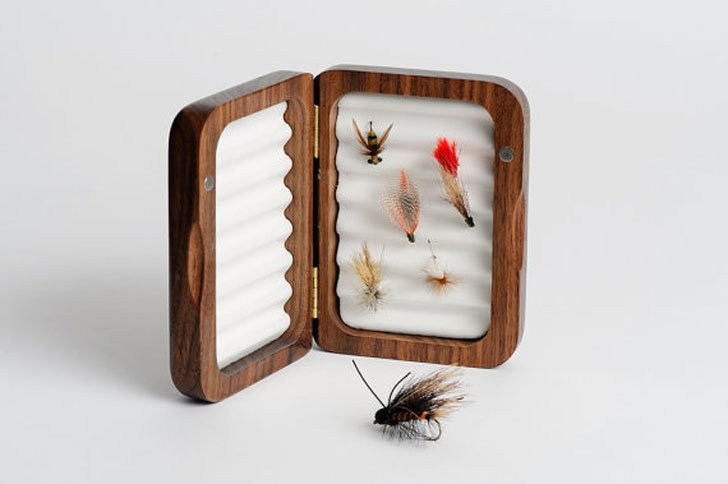 Personalized Fly Fishing Box