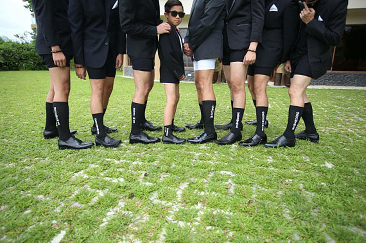 Printed Groomsmen Wedding Sock Sets