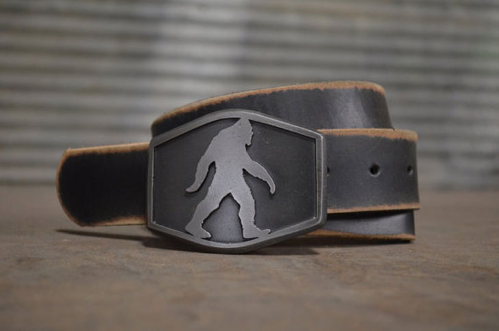 Cool Belts Part - 43: Sasquatch Belts Are The Very Essence Of Creativity. These Cool Belts Are  Great For Bigfoot Enthusiasts And Mythical World Fans Who Wish To Bring The  Legend ...