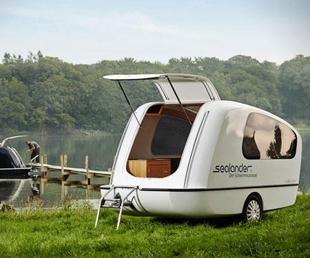 Sealander Amphibious Camper Trailer