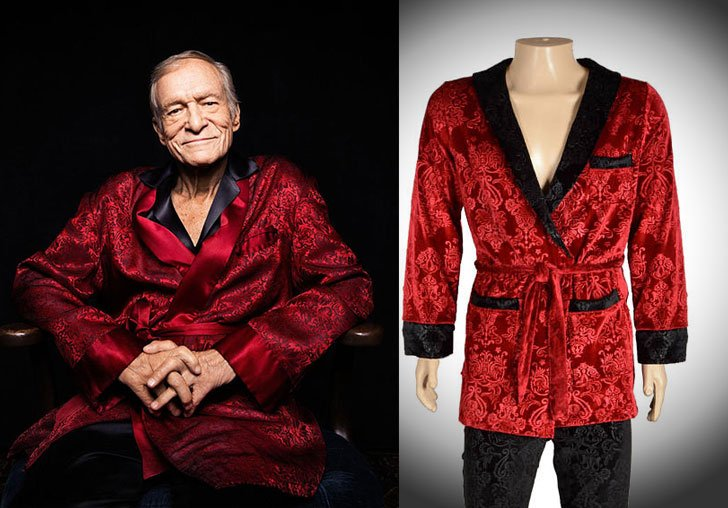 Signature Hugh Hefner Velvet Jacket & Lounge Pants