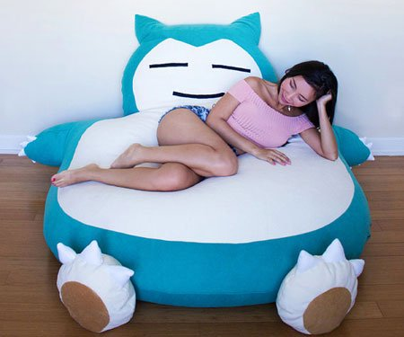 Sleeping Monster Bean Bags