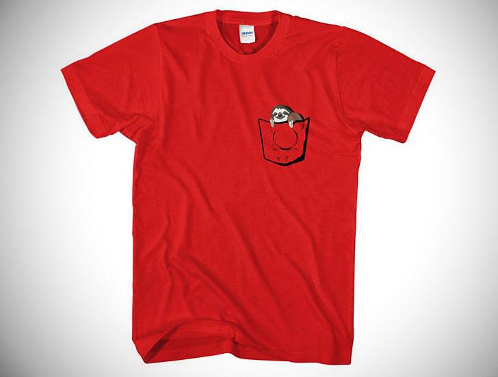Sloth Pocket T-Shirt