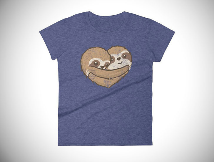 Sloth Valentine Shirt