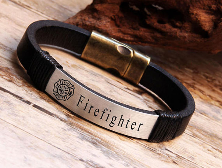 Stylish Firefighter Bracelet