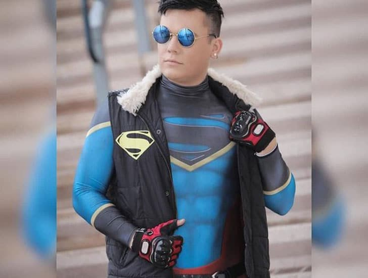 Superboy Men's Comic-Con Cosplay Costume