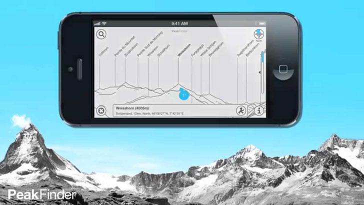 The PeakFinder App