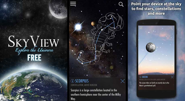 The SkyView App
