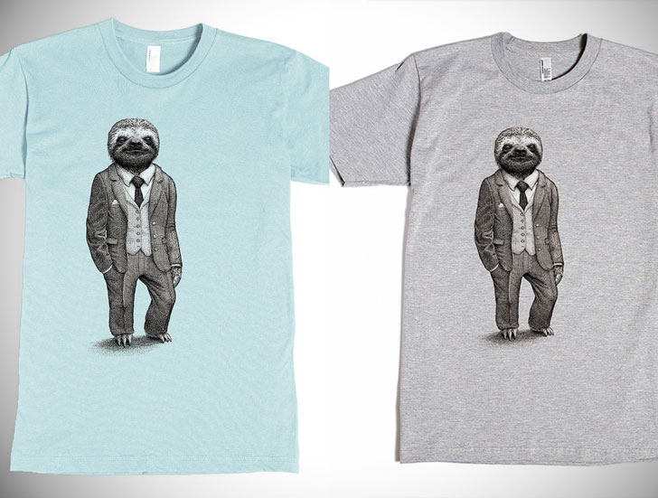 87d5b58840 30 Greatest Sloth T-Shirts You Can Buy For Men And Women!