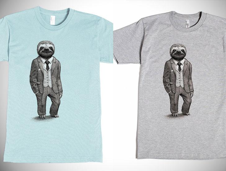 The Stylish Sloth Graphic Tee