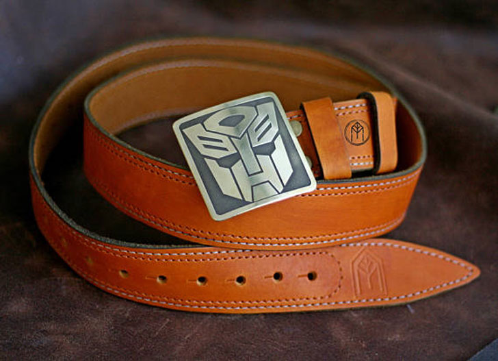 The Transformers Leather Belt
