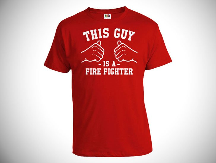 This Guy Is a Firefighter T-Shirt