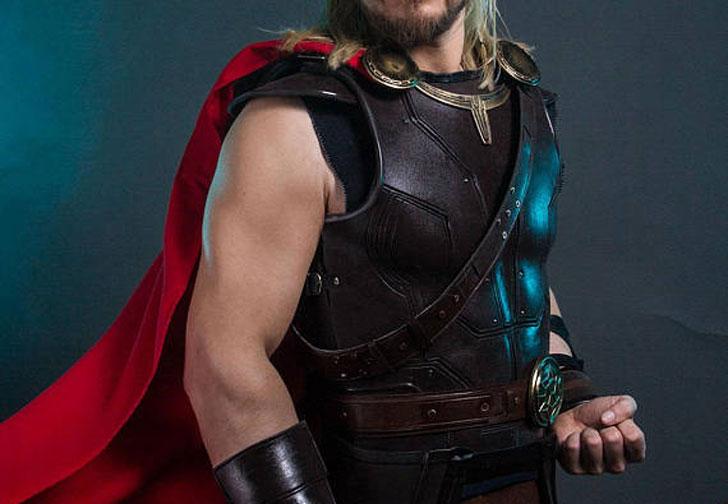 Thor Ragnarok Cosplay Armor Costume