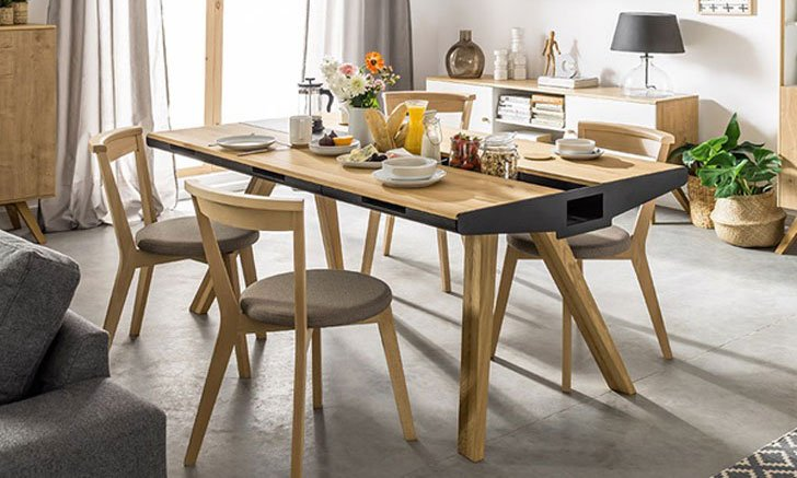 Very Beautiful And Practical Narrow Dining Table Unique dining tables