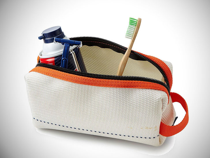Upcycled Fire Hose Toiletry Bag