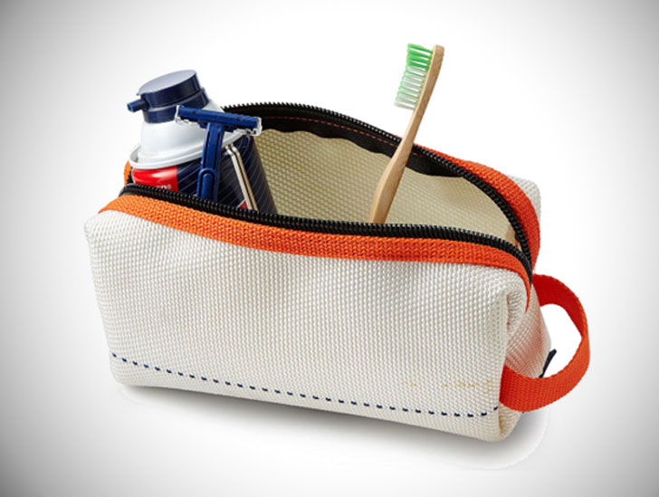 Upcycled Firehose Toiletry Bags